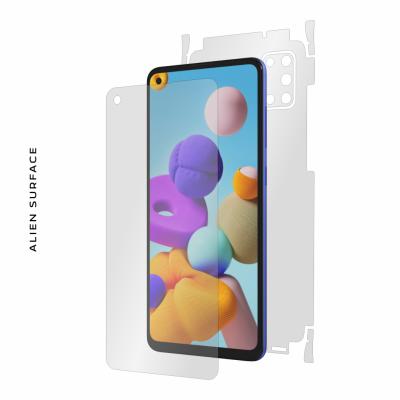 Samsung Galaxy A21s folie protectie Alien Surface