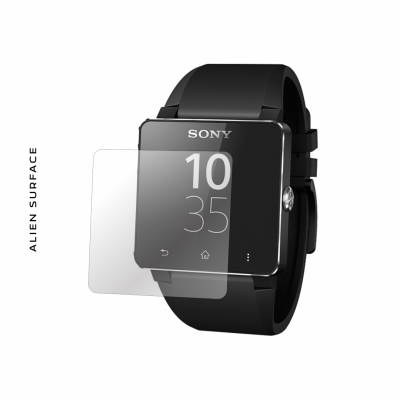 Sony SmartWatch 2 folie protectie Alien Surface