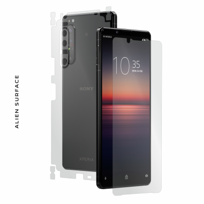Sony Xperia 1 II folie protectie Alien Surface
