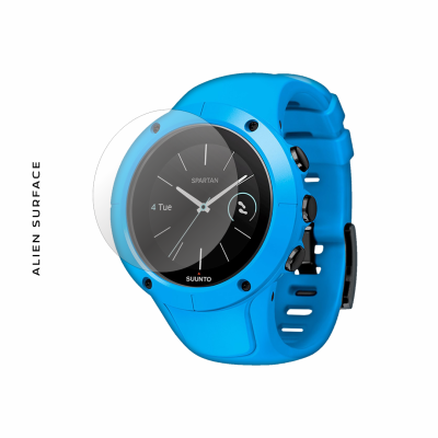 Suunto Spartan Trainer Wrist HR Blue folie protectie Alien Surface
