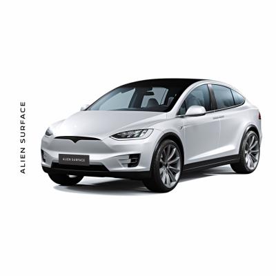 Tesla Model X folie protectie Alien Surface