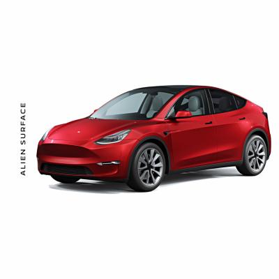 Tesla Model Y folie protectie Alien Surface