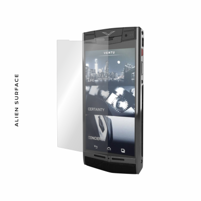 Vertu Signature Touch folie protectie Alien Surface