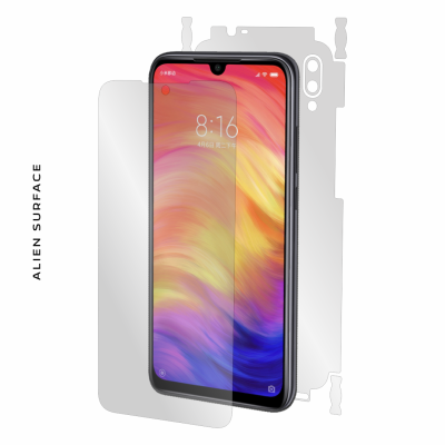 Xiaomi Redmi Note 7 Pro folie protectie Alien Surface