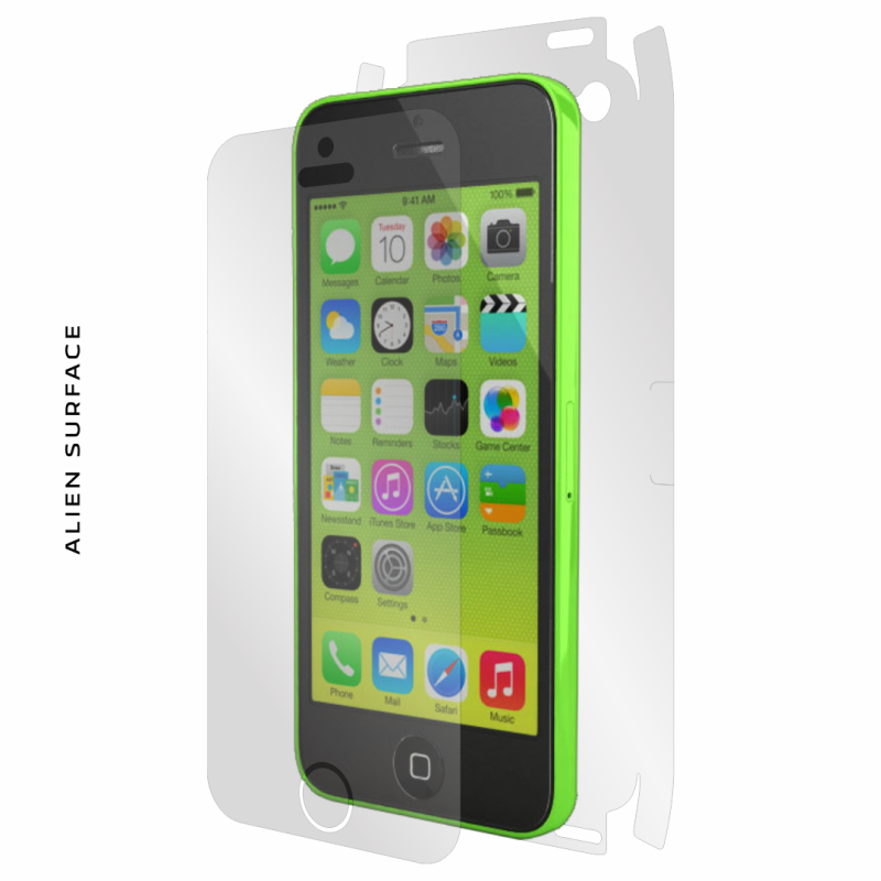 Apple iPhone 5C folie protectie Alien Surface