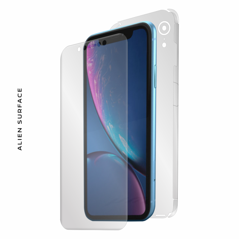 Apple iPhone XR folie protectie Alien Surface