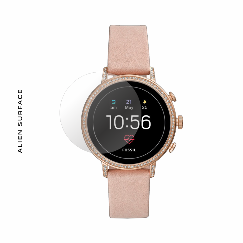 Fossil Smartwatch Q Venture Gen 4 Rose Gold folie protectie Alien Surface