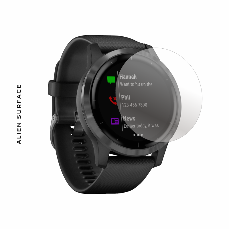 Garmin Vivoactive 4 (45mm) folie protectie Alien Surface