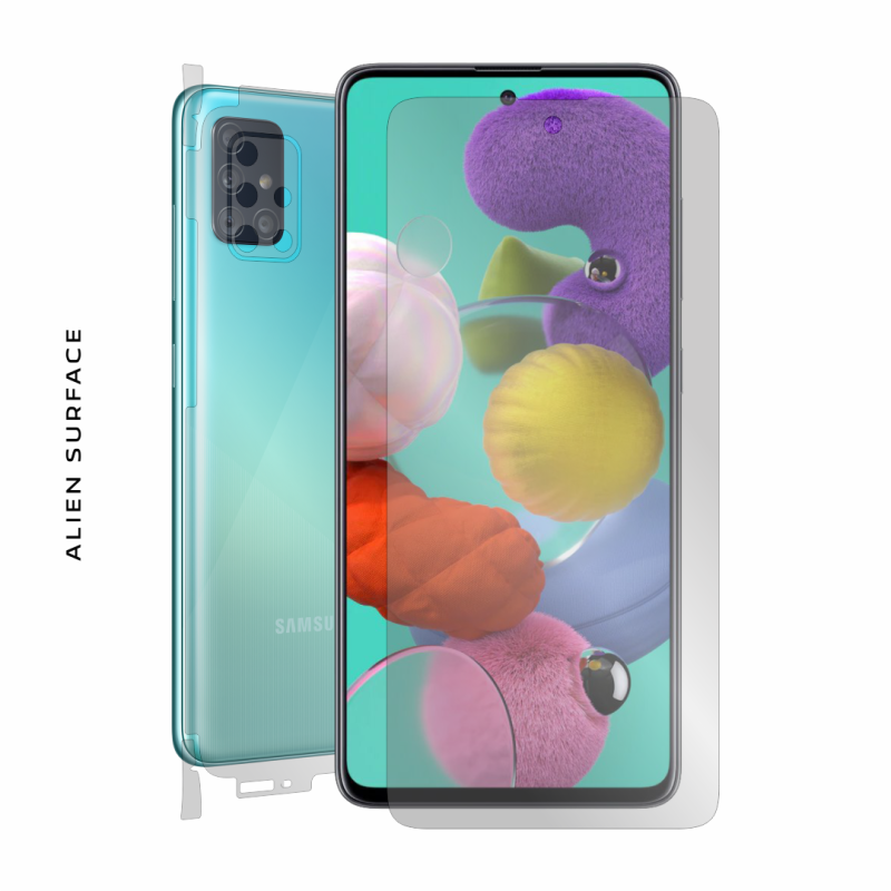 Samsung Galaxy A51 folie protectie Alien Surface