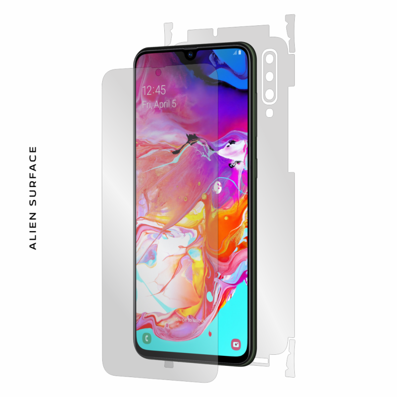 Samsung Galaxy A70s folie protectie Alien Surface