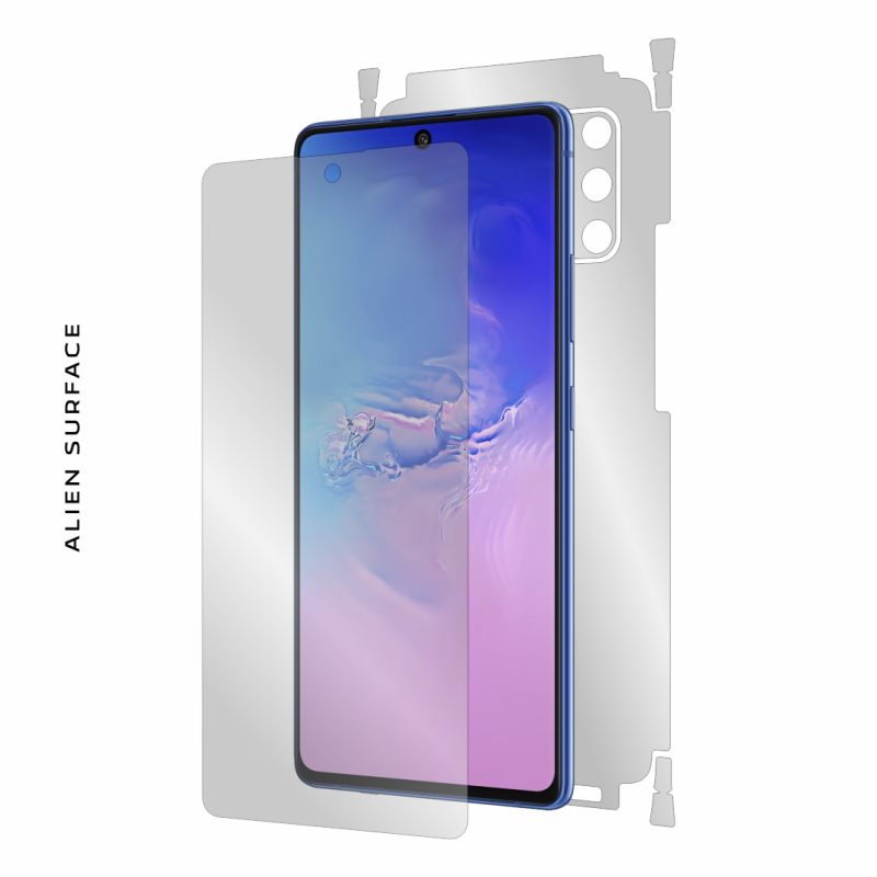 Samsung Galaxy S10 Lite folie protectie Alien Surface