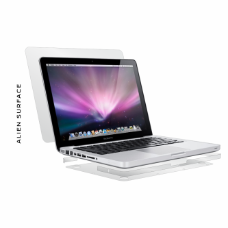 Apple MacBook Pro 15 inch Unibody 2008-2009 folie protectie Alien Surface