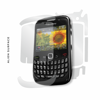 BlackBerry 8520 folie protectie Alien Surface