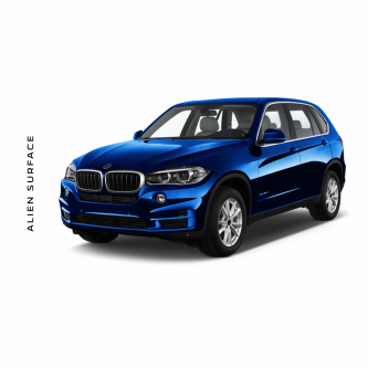 BMW X3 Multimedia set folie protectie Alien Surface