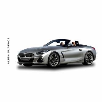 BMW Z4 (2019) Multimedia set folie protectie Alien Surface