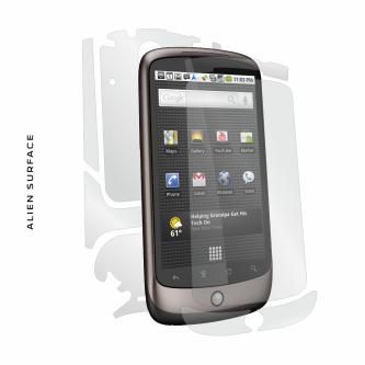 Google Nexus One folie protectie Alien Surface