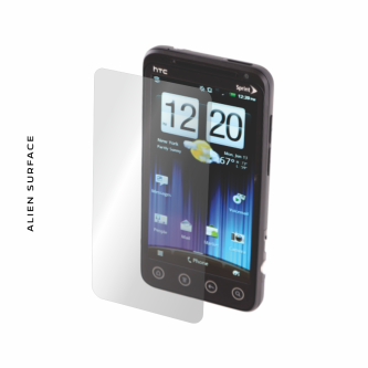HTC EVO 3D folie protectie Alien Surface