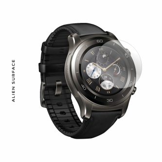 Huawei Watch 2 Carbon Black folie protectie Alien Surface