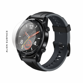 Huawei Watch GT 46mm Graphite Black folie protectie Alien Surface