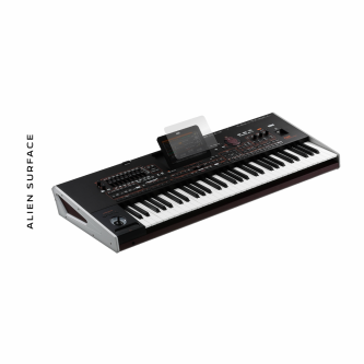 Korg Pa4x folie protectie Alien Surface