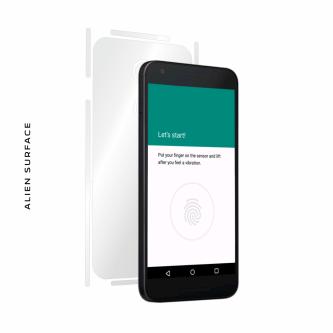 LG Nexus 5X folie protectie Alien Surface