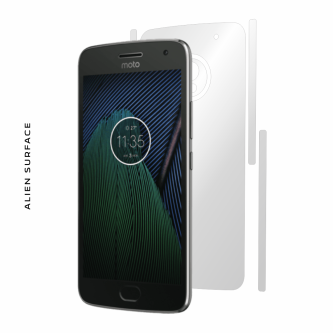 Motorola Moto G5 Plus folie protectie Alien Surface