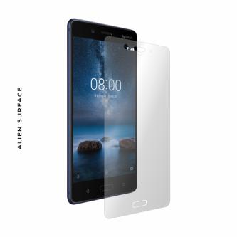Nokia 8 folie protectie Alien Surface