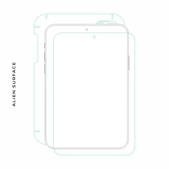 Samsung Galaxy Note 10.1 2014 Edition folie protectie Alien Surface