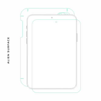 Prestigio MultiPad 2 Prime Duo 8.0 folie protectie Alien Surface