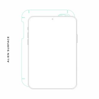 Samsung Galaxy Tab S 10.5 folie protectie Alien Surface