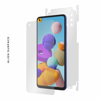 Samsung Galaxy A21s folie protectie Alien Surface