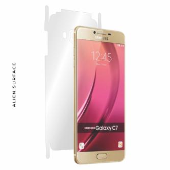 Samsung Galaxy C5 folie protectie Alien Surface