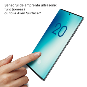 Samsung Galaxy Note 20 5G folie protectie Alien Surface