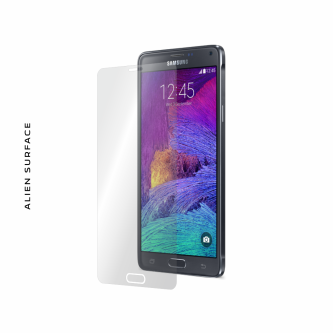 Samsung Galaxy Note 4 folie protectie Alien Surface