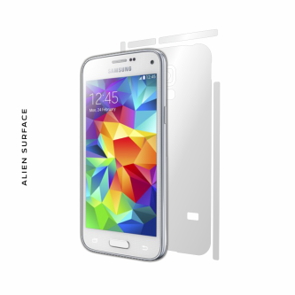 Samsung Galaxy S5 Mini folie protectie Alien Surface