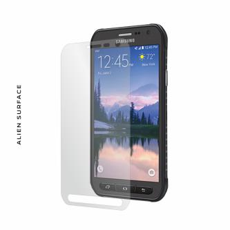 Samsung Galaxy S6 Active folie protectie Alien Surface