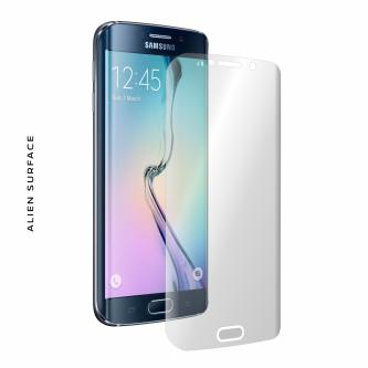 Samsung Galaxy S6 Edge folie protectie Alien Surface
