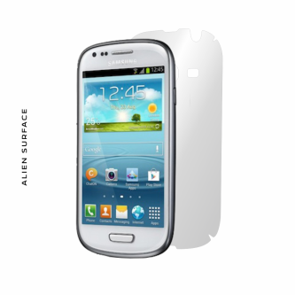 Samsung Galaxy S3 Mini folie protectie Alien Surface
