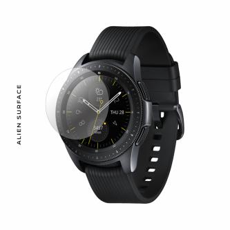 Samsung Galaxy Watch 42 Midnight Black folie protectie Alien Surface