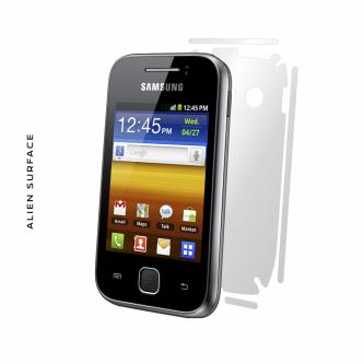 Samsung Galaxy Y folie protectie Alien Surface