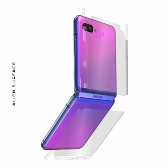 Samsung Galaxy Z Flip folie protectie Alien Surface