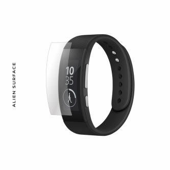 Sony SmartBand SWR30 folie protectie Alien Surface