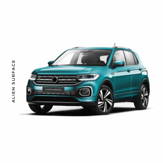 Volkswagen T-Cross folie protectie Alien Surface