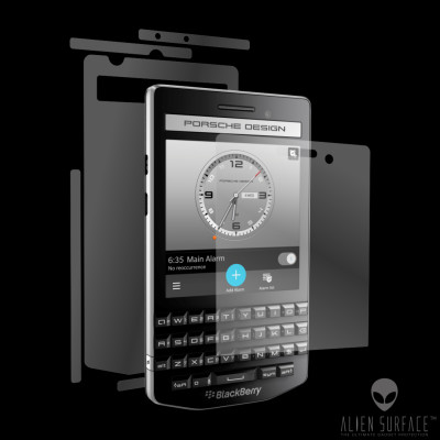 BlackBerry Porsche Design P9983 folie protectie Alien Surface ecran, carcasa, laterale