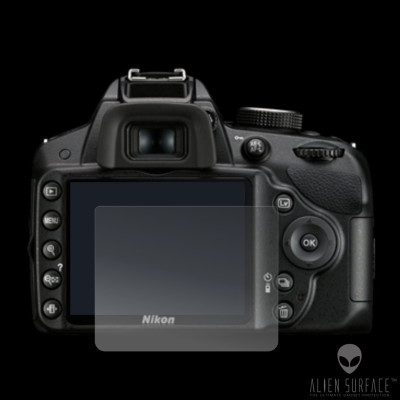 Nikon D3100 folie protectie ecran Alien Surface HD