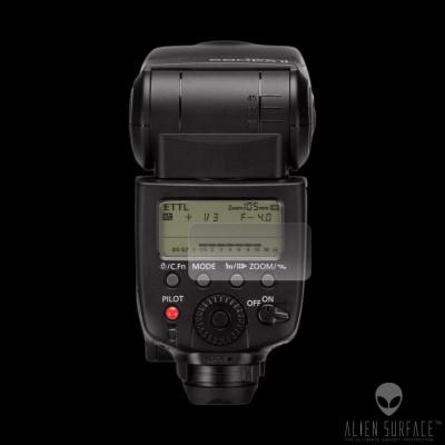 Canon Speedlite 580EX II folie protectie ecran Alien Surface