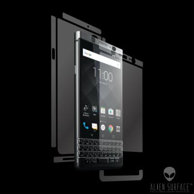 BlackBerry Keyone folie protectie Alien Surface ecran, carcasa, laterale