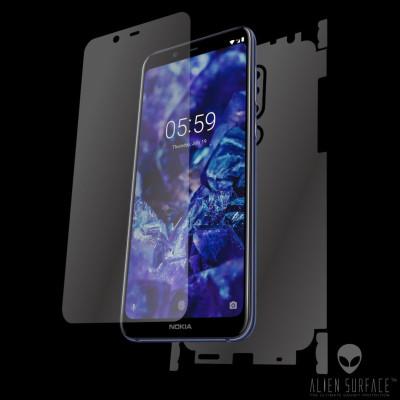 Nokia 5.1 Plus (2018) folie ecran, carcasa, laterale