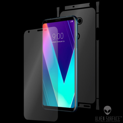 LG V30S ThinQ folie protectie Alien Surface ecran, carcasa, laterale