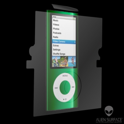 Apple iPod Nano 4G folie protectie Alien Surface HD